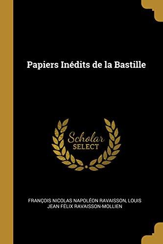 FRE-PAPIERS INEDITS DE LA BAST