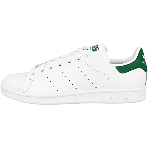 adidas Stan Smith, Zapatillas de Gimnasia Hombre, Blanco (Ftwrwhite Core White Green Ftwrwhite Core White Green), 42 EU
