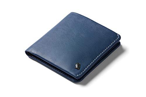 Bellroy Portefeuille fin pour pièces de monnaie - Design en cuir - Protection RFID, Bleu marine - RFID), WCWA-MBL-311