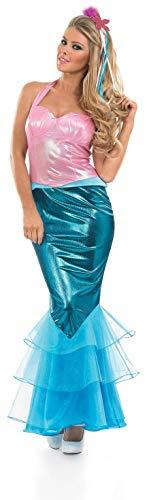 Fun Shack Blu Sirenetta Costume per Donne - X-Large