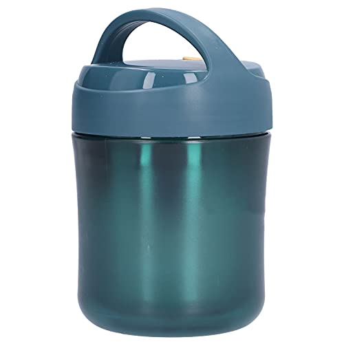 Jopwkuin Recipiente de Comida, Tarro de Comida Aislado para Sopa nutritiva, Leche, café(Azul)