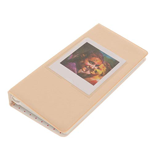 64 Zakken Foto Album Boek Naam Kaart voor Vierkante SQ10 SQ6 SQ20 Camera & Fujifilm Instax Share SP-3 Smartphone Printer Films, kaki