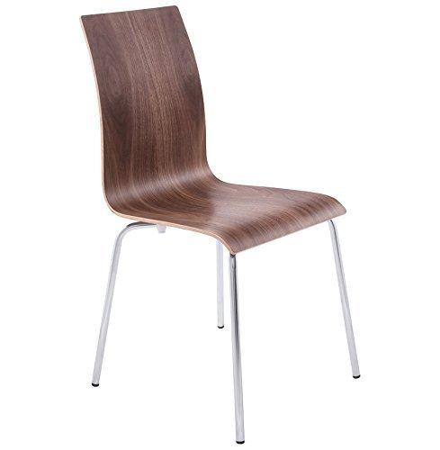 Quai 56 Stühle im Wohnzimmer oder Küche Walnuss Espera 4Stück