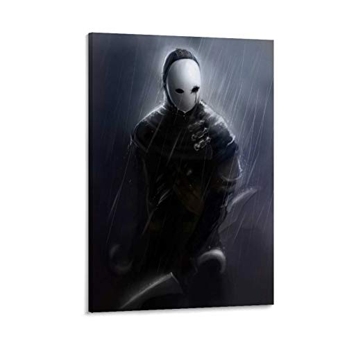 LMHQ Classic Anime Poster Dark Souls Mannequin Canvas Art Poster and Wall Art Picture Print Modern Family Bedroom Decor Posters 16x24inch(40x60cm)