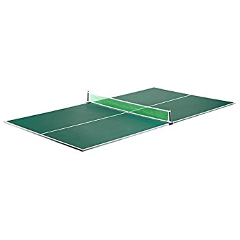 Hathaway BG2323 Quick Set Conversion Table Tennis Top for Pool Tables 1 Green
