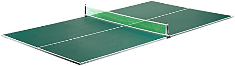 Hathaway BG2323 Quick Set Conversion Table Tennis Top for Pool Tables, 1, Green