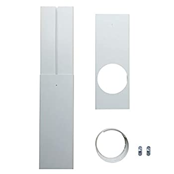 tBesme Window Seal | Portable AC Replacement Window PVC Seal Bracket | Multipurpose Window Vent Suitable for Mobile Air Conditioner with 5.9 /15cm AC Air Conditioner Diameter Hoses