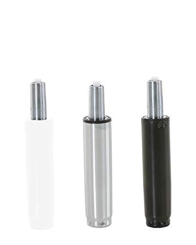 CLP Gaslift für Bürostühle I Gasdruckfeder für diverse Schreibtischstühle I verschiedene Modelle chrom, 100 mm