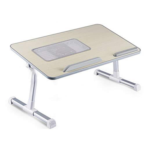Tavolino Pieghevole Postazione di lavoro Regolabile Sit stand scrivania,letto portatile Tavolo Composizione verticale,pieghevole Divano colazione Vassoio,Laptop supporto adatto for la casa e l'ufficio