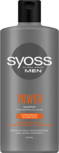 SYOSS Koffein Shampoo Men Power, 1er Pack (1 x 440ml)
