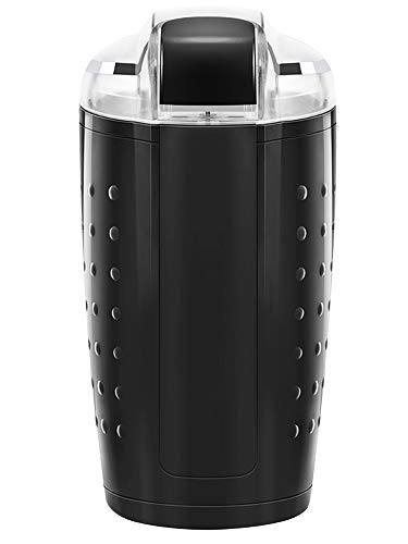 Discover Bargain Chefman Coffee Grinder for Fresh Coffee Grounds, Durable Stainless Steel Blades