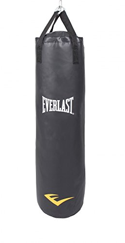 Everlast Sacco da Boxe, Unisex, Boxsack, Black, 123 x 35 x 35 cm