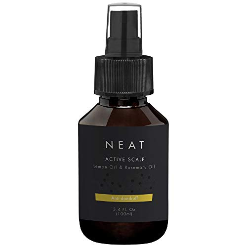 Active Scalp by NEAT | 100 ml | Dandruff treatment and Dry scalp spray | Natural and organic with essential oils such as Lemon oil and Rosemary oil | Alternative to anti-dandruff shampoo