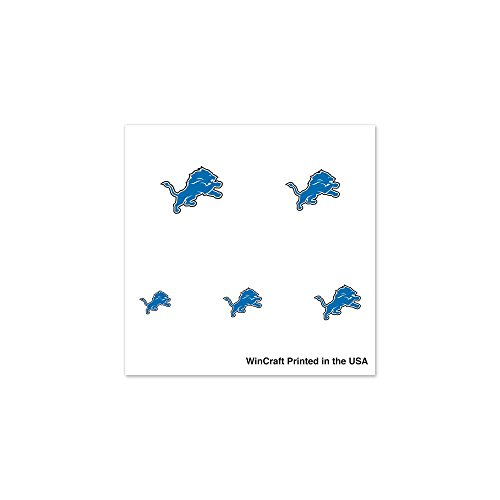NFL Detroit Lions 75855091 Fingernail Tattoos