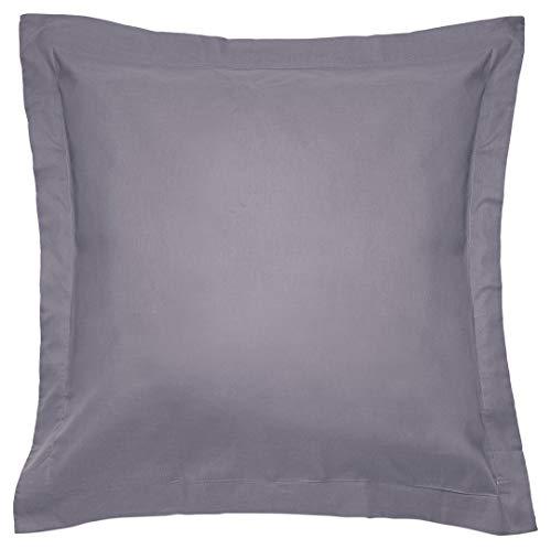 Sancarlos - Combicolor Funda de cojin, 60x60 cm, color gris