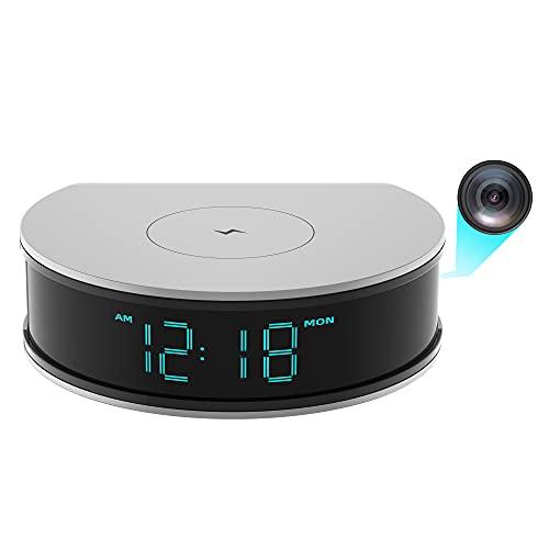 WiFi Camera Charger Hidden Camera - LIZVIE HC300N 1080p Wireless USB Charger, Night Vision Motion Detection Mini Clock Camera, Nanny Cam
