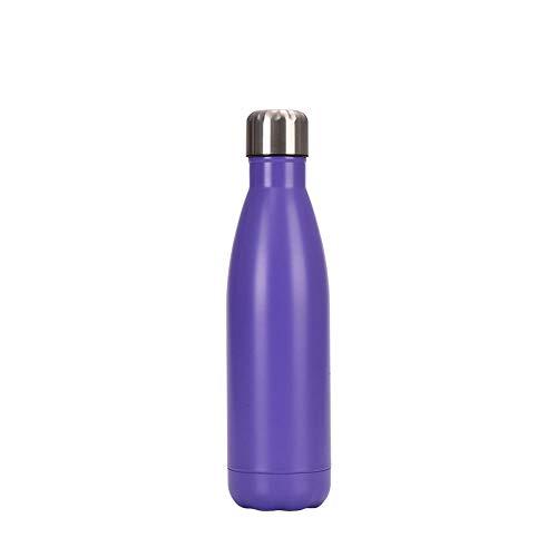 Chilly's Bottles, botella de agua de acero inoxidable de doble capa a prueba de fugas, botella de coca de coca reutilizable, botella deportiva de enfriamiento, para mujeres y hombres, 05.500 ml