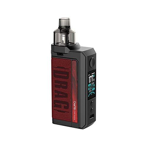 Kit VOOPOO DRAG Max 177W TC E-cigarette double 18650 Batteries avec réservoir PNP 4.5ML Compatible...
