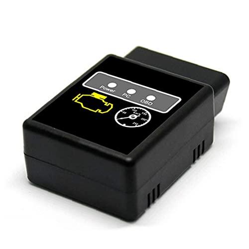 System Scanner motor del vehículo del coche de Bluetooth del OBD del explorador de código OBD2 HH Avance universal OBD 2 Herramienta de diagnosis luz del motor de OBDII Comprobar para Android PC