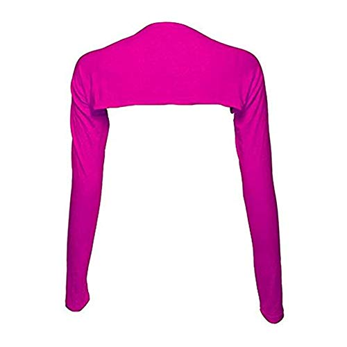 Bolero Shrug Anti-UV Golf Cooling Shawl Arm Sleeve Sun Protection Breathable & Comfortable for Women Golf & Outdoor Sports (Rosered)