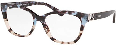 Eyeglasses Coach HC 6120 5559 Blue Tort On Bottom/Gray Tor