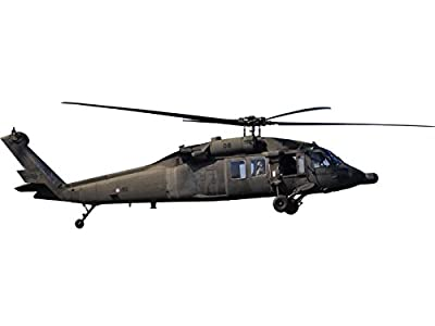 Military Helicopter Wall Decal Aviation Decor Blackhawk Helicopter Sticker VWAQ-PAS20