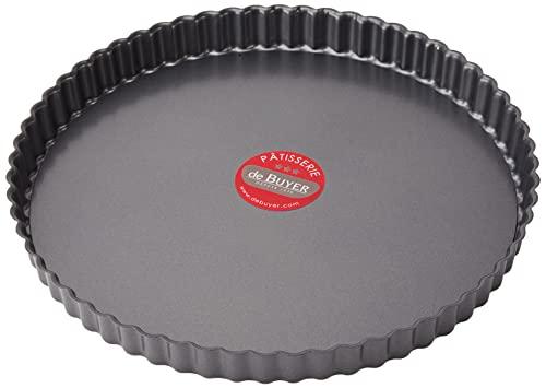 DE BUYER -4706.28 -tarte cannelee droite demontable ø28