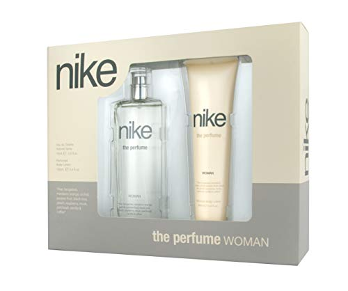 Nike - The Perfume Estuche de Regalo para Mujer, Eau de Toilette 75 ml y Body Lotion 100 ml