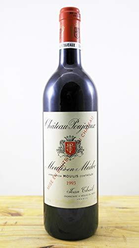 Wein Jahrgang 1993 Château Poujeaux Flasche
