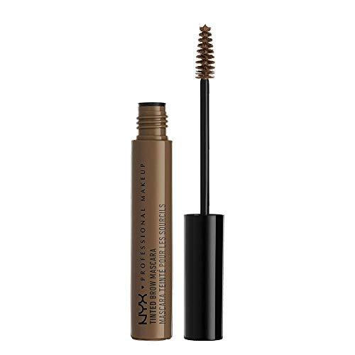 NYX Professional Makeup Tinted Brow Mascara, Getönte Augenbrauen-Mascara, Augenbrauenfarbe, Cremige Gel-Textur für volle, geformte Brauen, 6,5 ml, Farbton: Brunette
