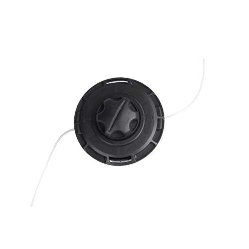 BRAST Fadenspule mit Aufrollfunktion für M10 Gewinde Doppelfadenkopf Tippautomatik Motorsense Rasentrimmer Multitool