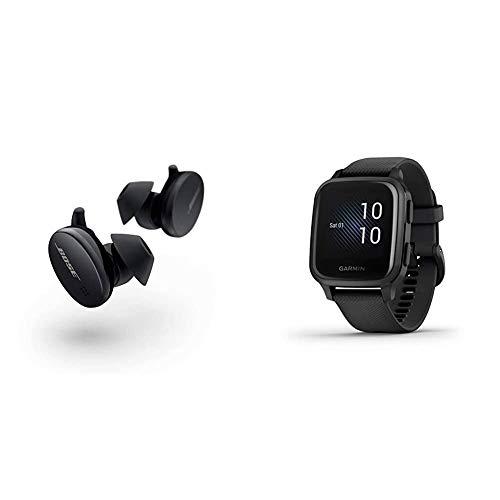 Pack - Bose Écouteurs Sport Earbuds Noir + Garmin Venu Sq Black/Slate