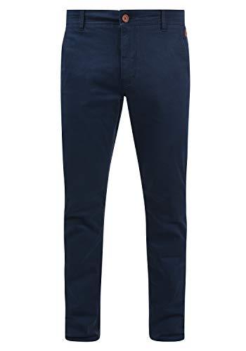 Blend Kainz Herren Chino Hose Stoffhose Aus Stretch-Material Regular Fit, Größe:W33/34, Farbe:Navy (70230)