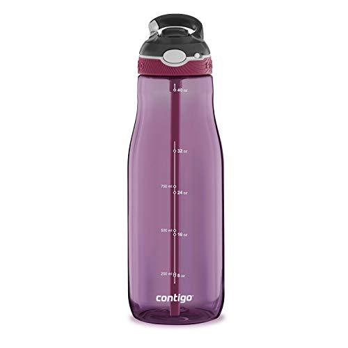 Contigo Ashland Water Bottle, 40oz, Passion Fruit