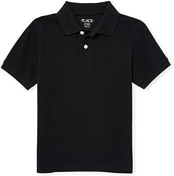 The Children's Place Boys' Short Sleeve Uniform Polo