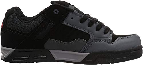 DVS Shoes Herren Enduro Heir Sneaker, Grau (Charcoal Black Nubuck), 42.5 EU