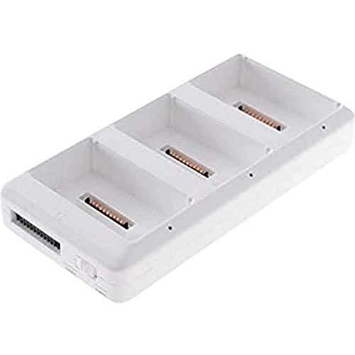 DJI Phantom Part 8 - Caricabatterie Multiplo Compatibile con Batterie Intelligenti del Drone DJI Phantom 4, Hub di Ricarica, Carica fino a 3 Batterie Contemporaneamente, Alimentatore non Incluso