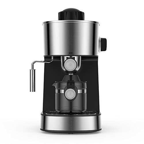 ECSWP Máquina de café doméstica pequeña Hervido Completa Mini Vapor semiautomática Espuma de Leche té