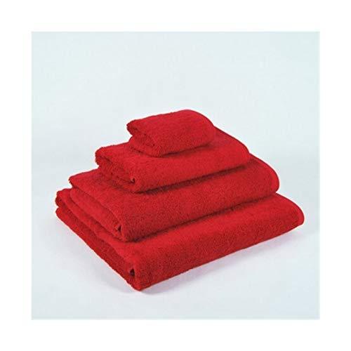 WENSHENG Juego Toallas baño Rojo Toalla Baño Hecha 100% Algodón, Toallas Set (Size : Bathroom Amenities)