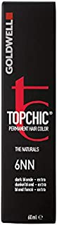 Goldwell Topchic Hair Color, 6nn Dark Blonde/Extra, 2.03 Ounce