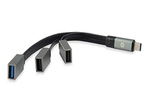Conceptronic HUBBIES01G USB 3.1 Type-C (de 1 Puerto USB 3.0 + concentrador...