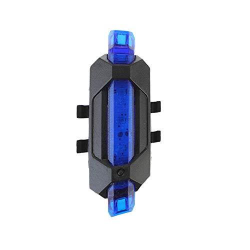 Rennradbeleuchtung, ausgehende Beleuchtung Fahrradlicht, Rückenlehnenlicht für Fahrräder, wasserdichte LED USB Wiederaufladbare Mountainbike Radfahren, Taillamp Safety Warn Lampe Zykluslicht,Monstera