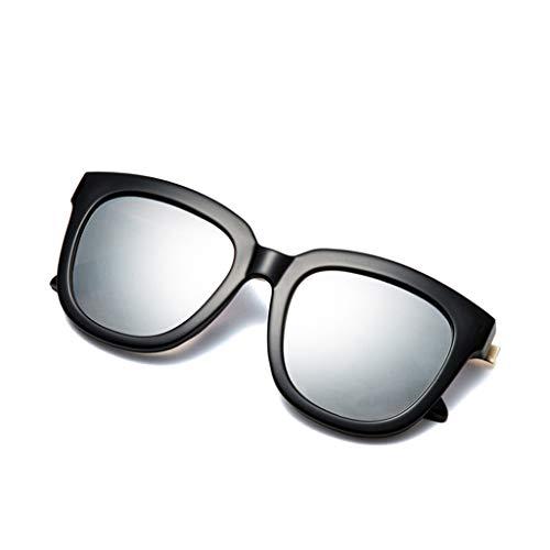 HQCC Silberne Objektiv-Art- und Weisereise-Sonnenbrille der Frauen