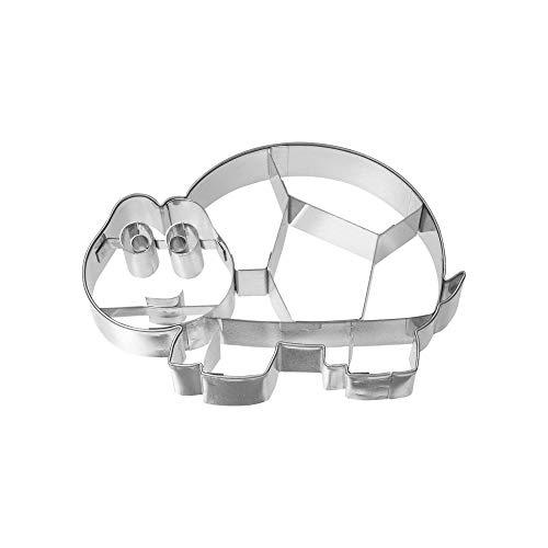 Birkmann 1010716910 Ausstechform Schildkröte, 9,8 cm, Kunststoff, Grau, 5 x 3 x 2 cm