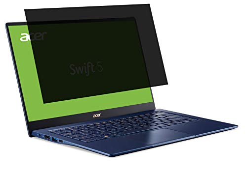 Acer Blickschutzfolie - 2 Way Privacy Filter geeignet für 14 Zoll Laptops, Anti-Spy Privatsphäreschutz dank Sichtschutzfilter, Matte Folie, Displayschutzfolie, Blaulichtfilter, Transparent