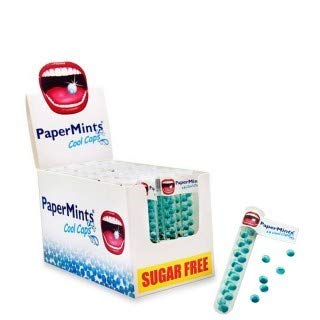 PaperMints Atemerfrischer | 6 Tuben mit jeweils 18 Kapseln | Frischer Atem sofort und langanhaltend
