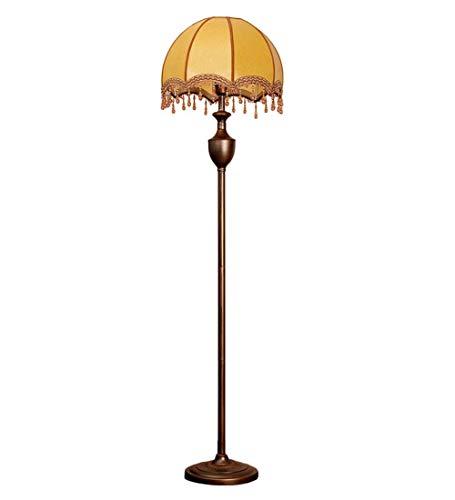 AJZXHE Grand lampadaire de Style européen - lampadaire Vertical de Chambre à Coucher Minimaliste Moderne (Interrupteur au Pied) (Design : Foot Switch)