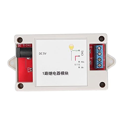 ASHATA Interruptor de relé WiFi Módulo de Internet Controlador TCP Interruptor de relé de Internet Módulo de relé WiFi