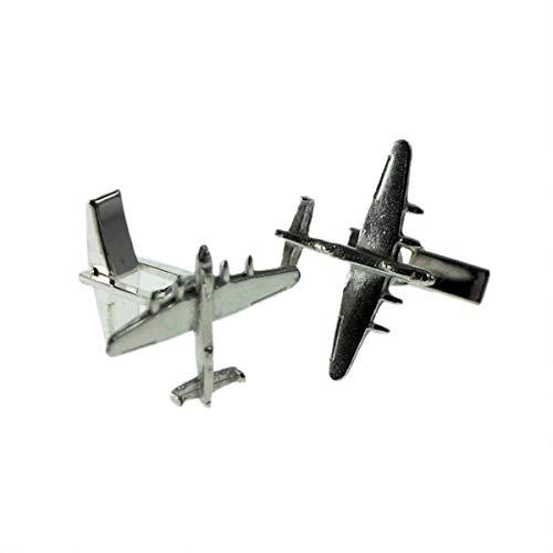 Engels gemaakt Stealth bommenwerper vliegtuig vliegtuig vliegtuigen Pilots tinnen manchetknopen