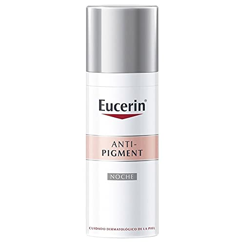 Eucerin - Crema De Noche Antipigmento Anti-pigment Night Cream, Aqua, 50 Mililitro
